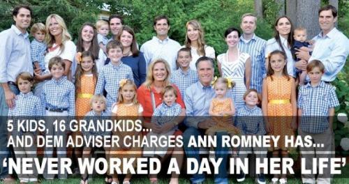 Ann Romney Motherhood
