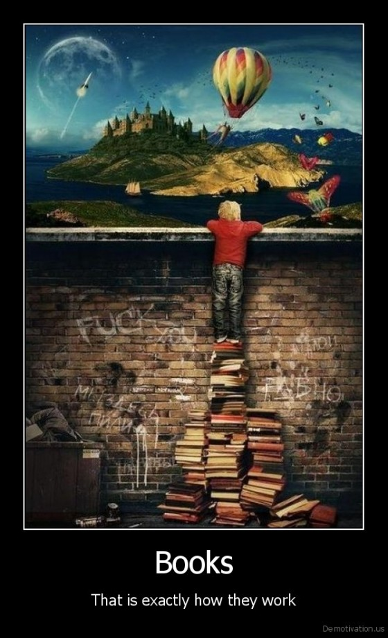 Books: That Is Exactly How They Work