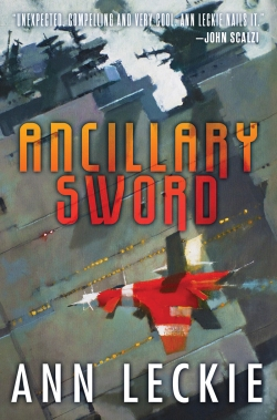 Ancillary Sword book cover