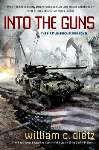 Cover of the book Into the Guns by William C. Dietz