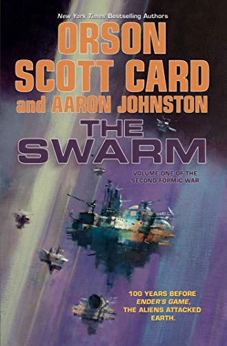 Cover of the book The Swarm by Orson Scott Card and Aaron Johnston