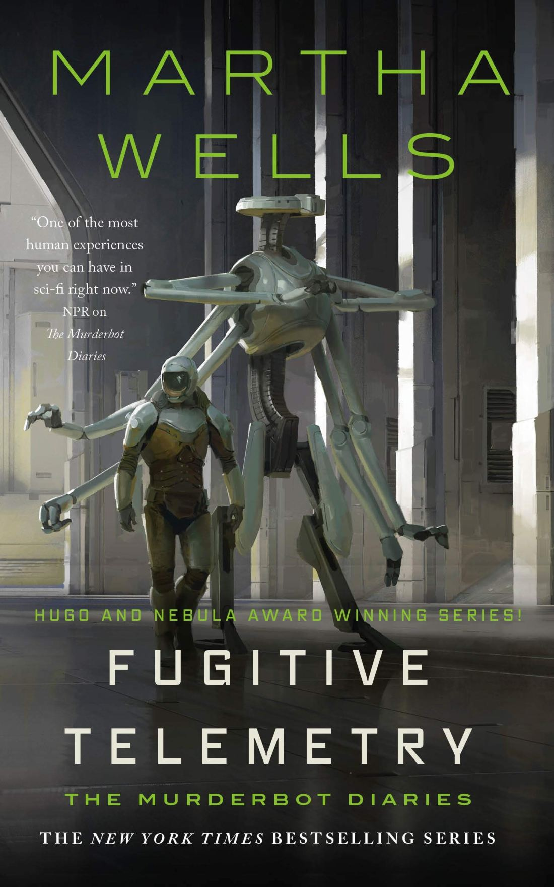 Cover of the book Fugitive Telemetry by Martha Wells