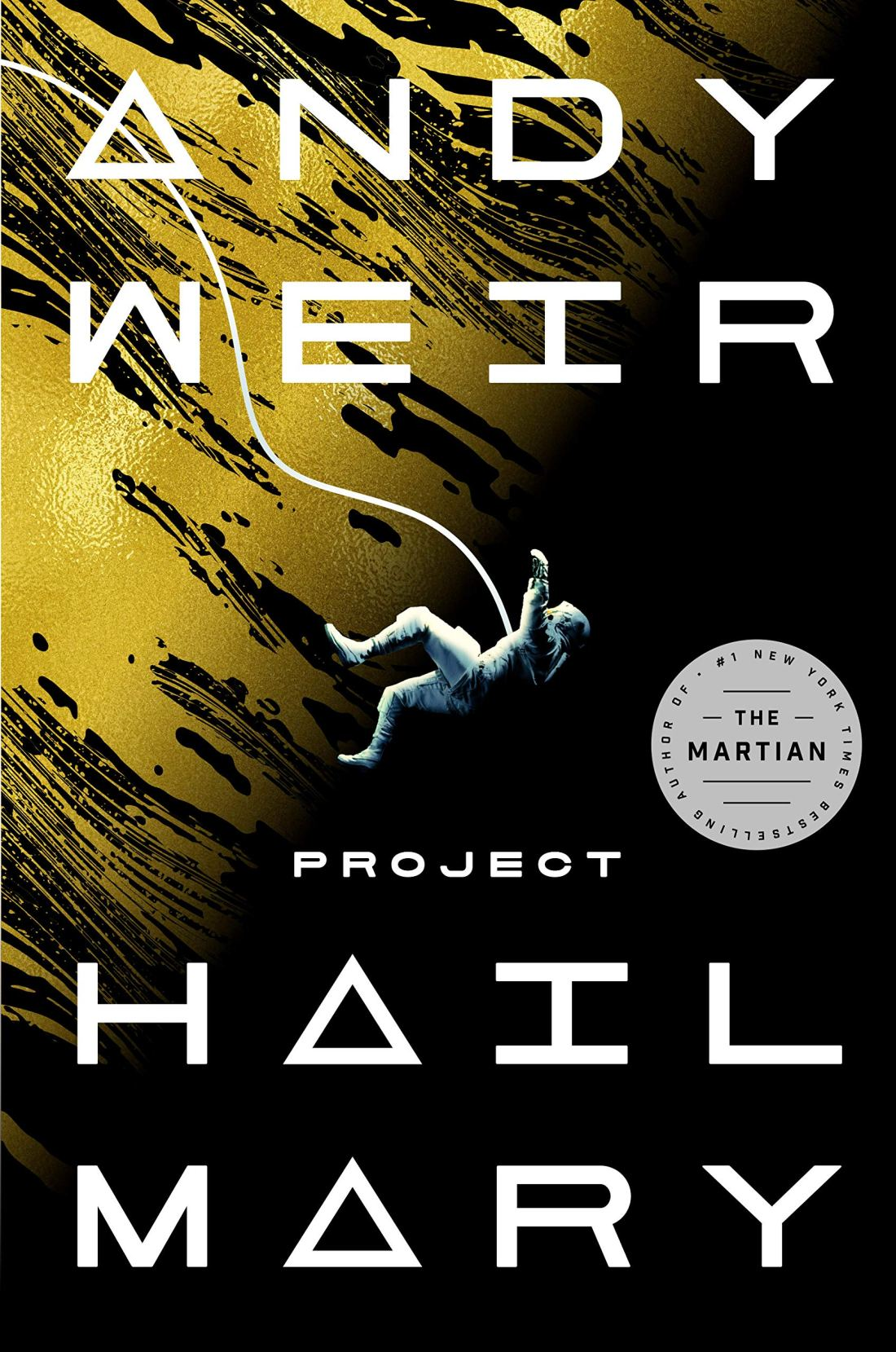 Cover of the book Project Hail Mary by Andy Weir